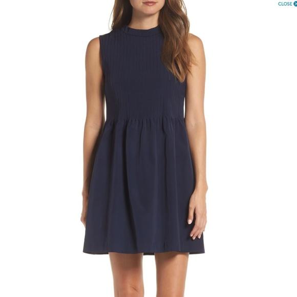 High Neck Stretch Dresses